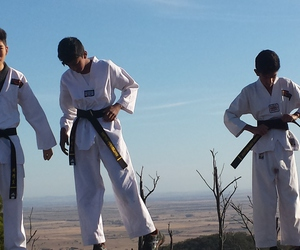 taekwondo, self defence, and martial arts for kids image