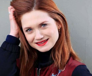 Queen, bonnie wright, and red hair image