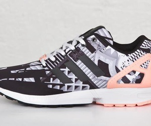adidas, zx flux, and sneakers image
