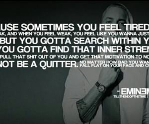 eminem, quote, and motivation image