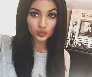 kylie jenner, jenner, and makeup image