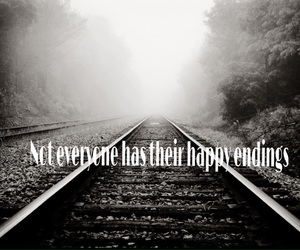 boy, happy endings, and sad quotes image