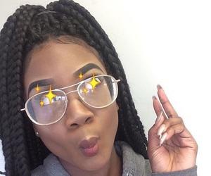 eyebrows and melanin image