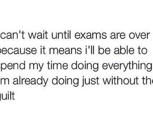 exam, school, and funny image