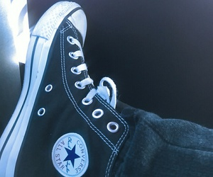clothes, converse, and shoes image