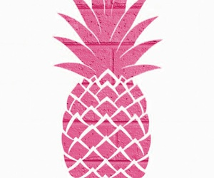 pink, wallpaper, and pineaple image