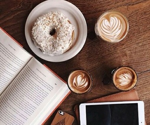 bible, breakfast, and coffee image