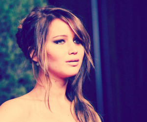 Jennifer Lawrence, hunger games, and beauty image