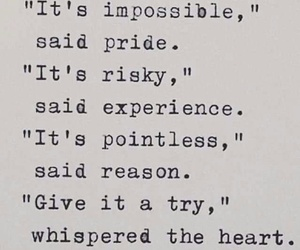 heart and impossible image