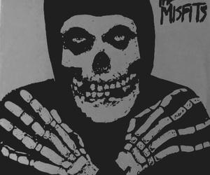 skeleton, skull, and the misfits image