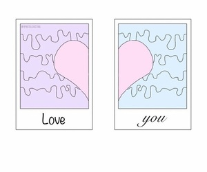 love and overlay image