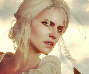 the witcher and ciri image