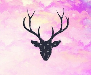 wallpaper, pink, and hipster image