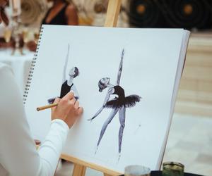 ballet, art, and ballerina image