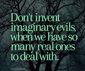 evil, imagination, and life image