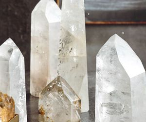 crystal, crystals, and quartz image
