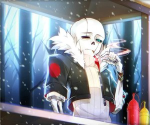 sans, undertale, and gastersans image