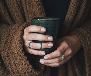 coffee and hands image