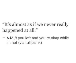breakup, depressed, and sad image