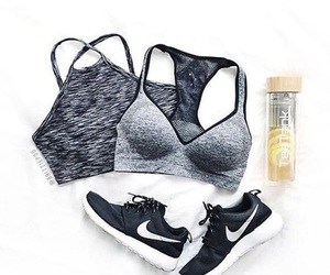 fashion, grey, and nike image
