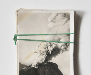 cards, nature, and vulcano image
