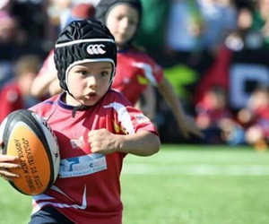 ball, boy, and rugby image
