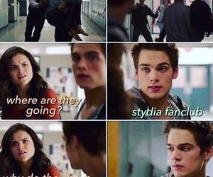 teen wolf, stydia, and stalia image