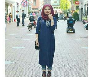 hijab street style image