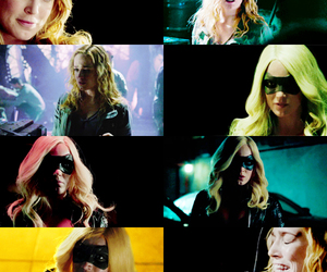 arrow, Black Canary, and edit image