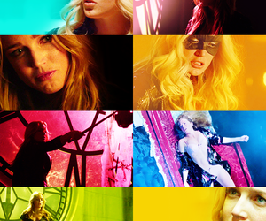 arrow, Black Canary, and colors image