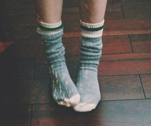 socks, vintage, and indie image