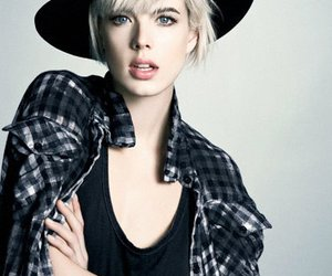 agyness deyn, beautiful, and hat image