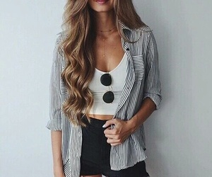 casual, outfit, and girl image
