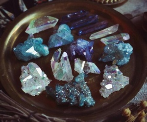 blue, crystal, and yes image