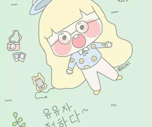 art, art girl, and baby girl image