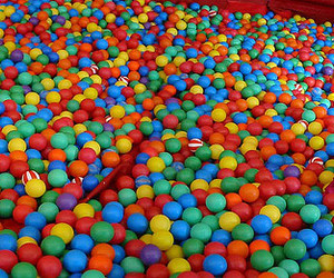 ball pit, balls, and colorful image