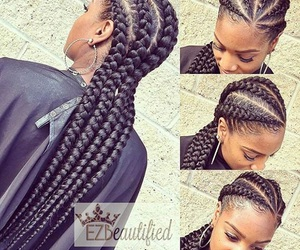 braids and cornrows image