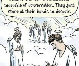 funny and heaven image