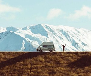 free, freedom, and mountain image