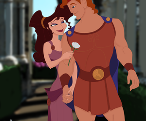 hercules, love, and disney image