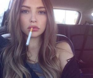 cigarette, smoke, and tumblr image