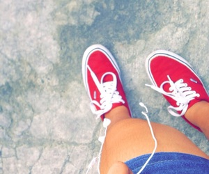 maroon, sneakers, and vans image