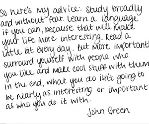 quotes, john green, and life image