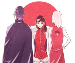 anime and sasusaku image