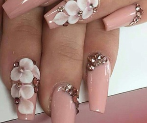 cool, fashion, and nails image