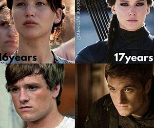 OMG, the hunger games, and katniss image
