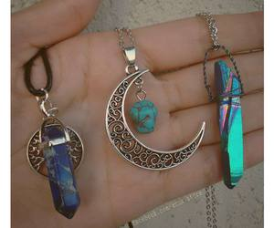 bohemian, colar, and moon image