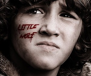 game of thrones, house stark, and rickon stark image
