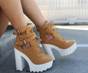 boots, fashion, and brown image