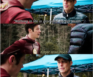 kanye west, the flash, and barry allen image